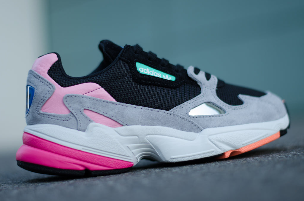 Adidas Falcon Women ( Black / Grey /Pink ) BB9173