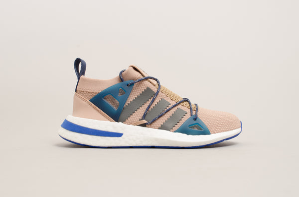 Adidas Arkyn Women Ash Pearl ( Beige ) / Grey Five / Noble Indigo ( Blue ) DA9604