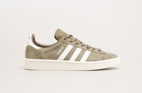 Adidas Campus Branch Olive Green Brown Grey CQ2081