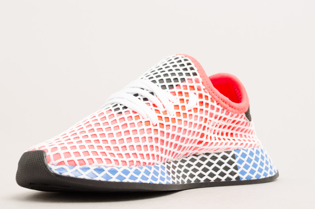Adidas Deerupt Runner Junior Solar Red/Blue Bird/White/Black DA9610