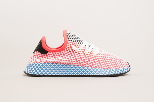 Adidas Deerupt Runner Solar Red/Blue Bird CQ2624