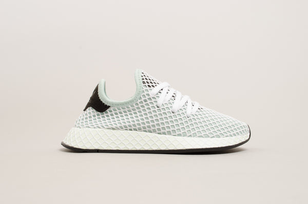 Adidas Deerupt Runner Women ( Green / White ) CQ2911