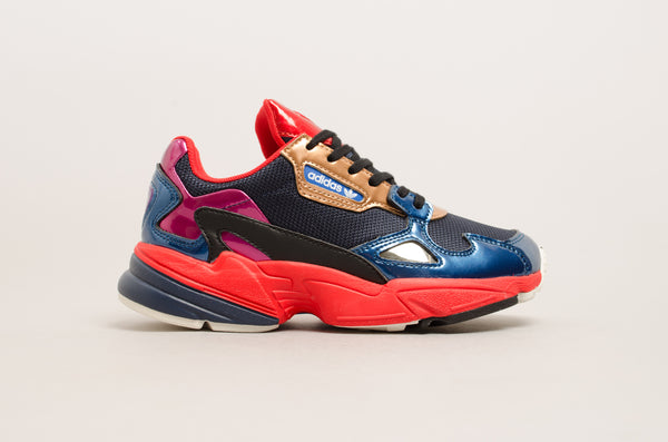 Adidas Falcon W ( Collegiate Navy / Red ) CG6632