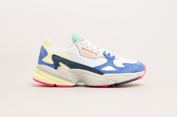 Adidas Falcon W ( Footwear White / Blue / Grey / Yellow / Pink / Green / Black ) BB9174
