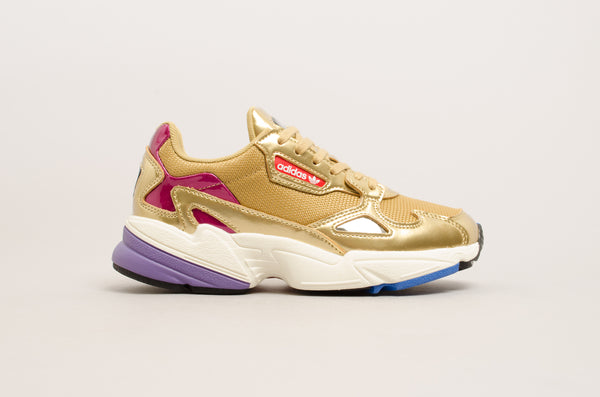 Adidas Falcon W ( Gold Metallic / Off White ) CG6247