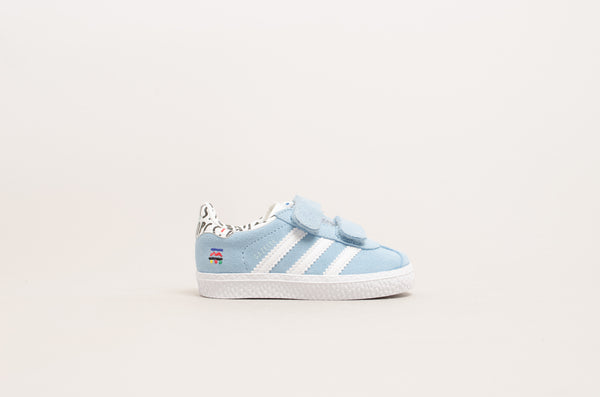 Adidas Gazelle CF I ( Clear Blue / Footwear White ) B37216