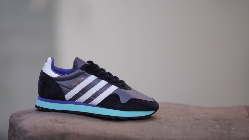 Adidas Haven Trace Grey Black BB1283