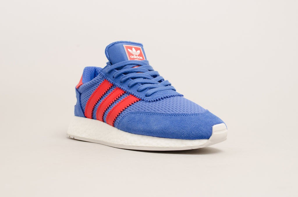 Adidas I-5923 ( Hi-Res Blue / Red / White / Grey ) D96605