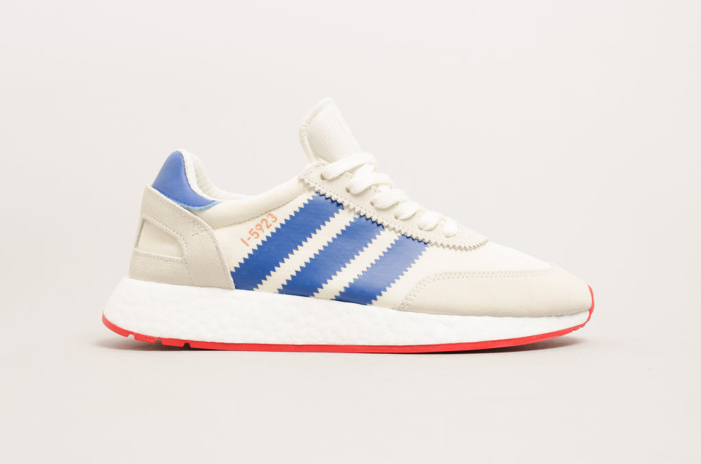 Adidas I-5923 (Iniki Runner) Off White/Blue/Red BB2093
