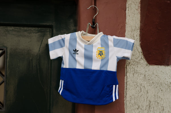 Adidas Infant Football Tee Argentina ( Blue / White ) CD8035
