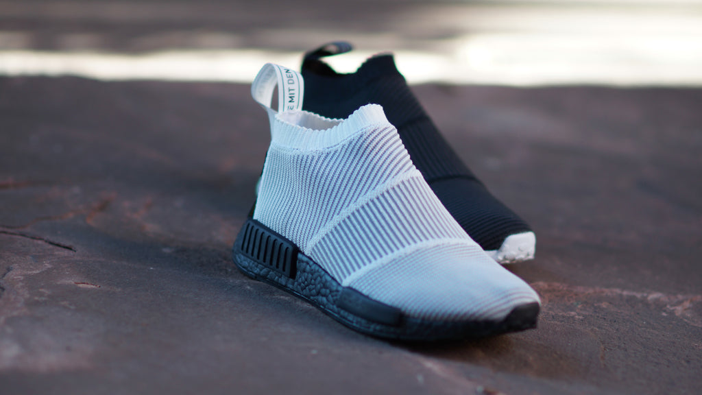 Adidas NMD_CS1 Gore-Tex Primeknit White/Black BY9404