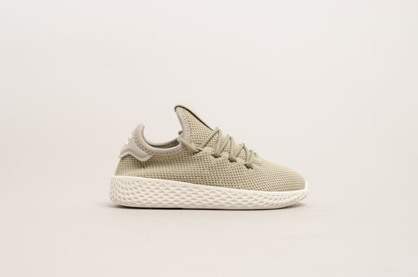 Adidas Pharell Williams Tennis Hu C Tech Beige/Chalk White BB6836