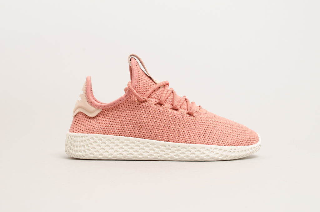47c71110f Adidas Pharell Williams Tennis Hu W Ash Pink Chalk White DB2552 ...