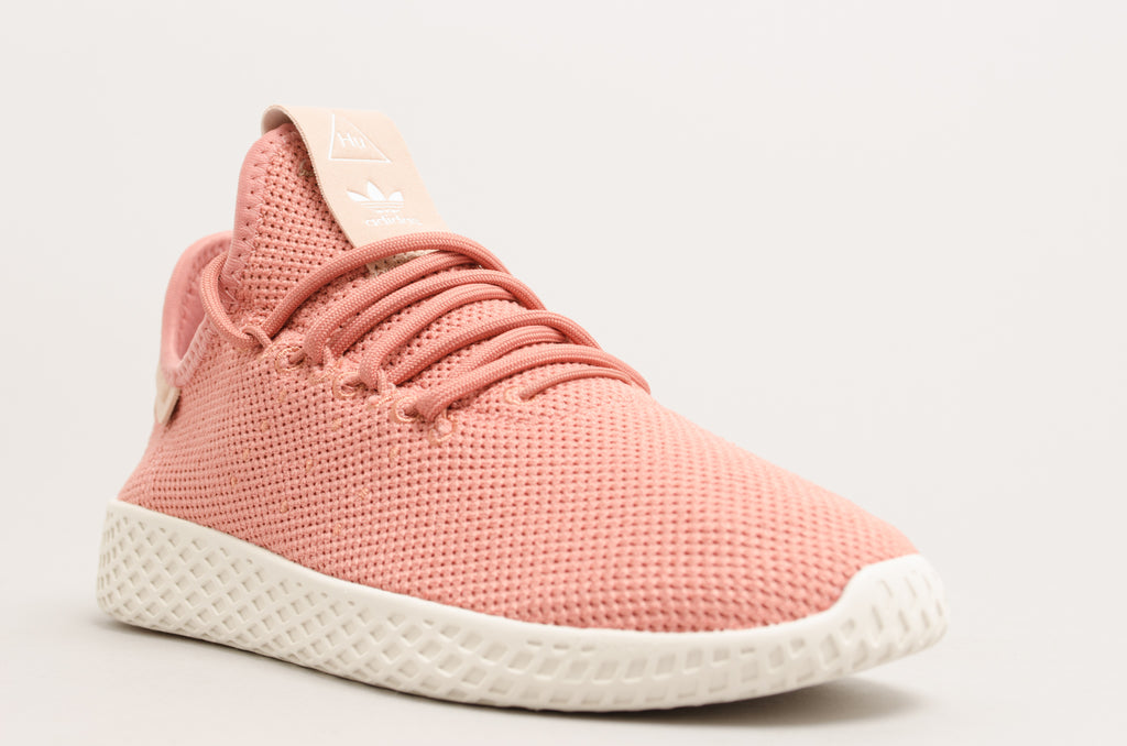 eb3aa2845 ... Adidas Pharell Williams Tennis Hu W Ash Pink Chalk White DB2552 ...