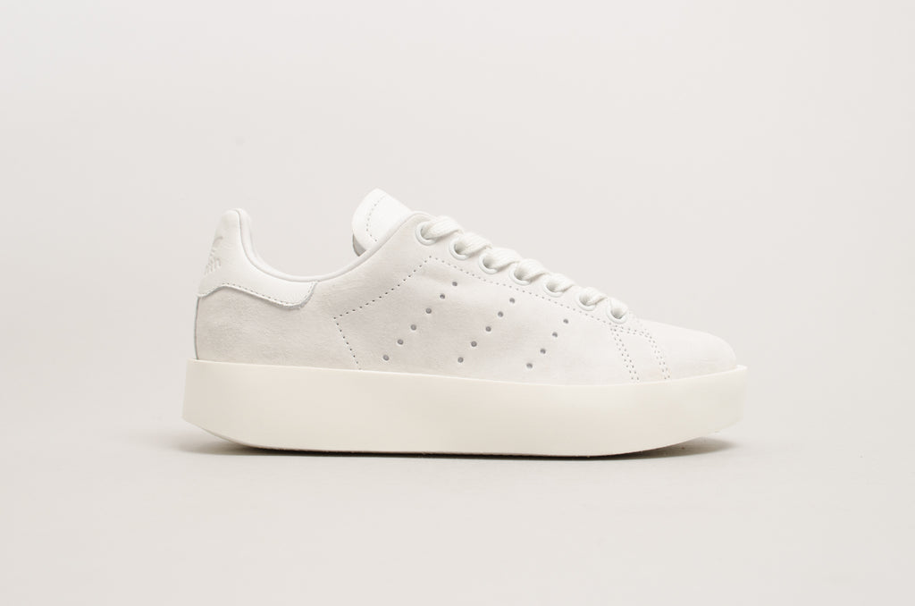 adidas stan smith bold white