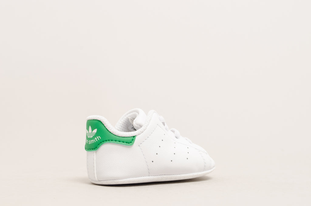 Adidas Stan Smith Crib ( White / Green ) B24101