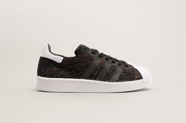 Adidas Superstar 80's Primeknit Black Multicolor S75844