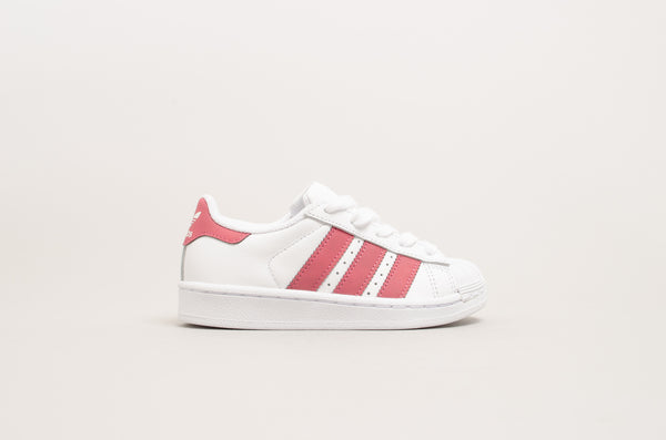 Adidas Superstar C White/Pink CQ2723