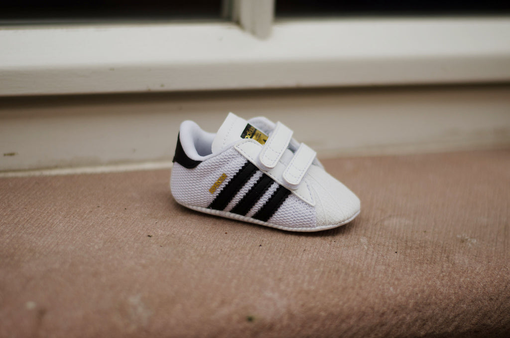 Adidas Superstar Crib ( White / Black ) S79916