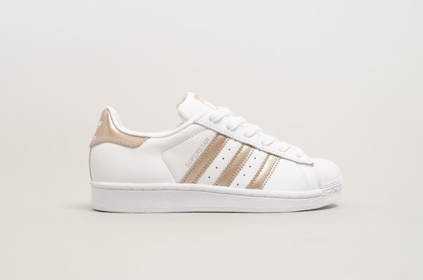 Adidas Superstar W White/Cyber Metallic Rose Gold CG5463