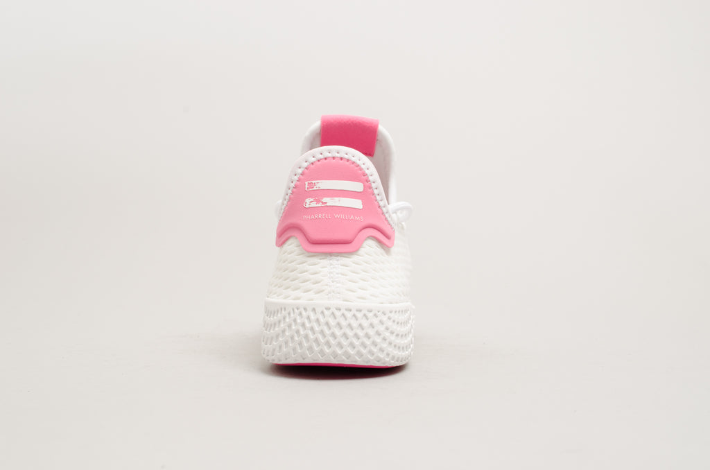 Adidas Pharell Williams Tennis Hu White Pink BY8714
