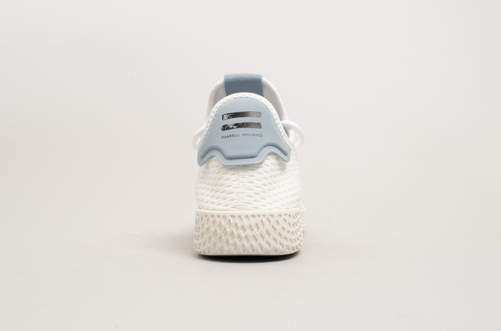Adidas Pharell Williams Tennis White Tactile Blue Hu BY8718