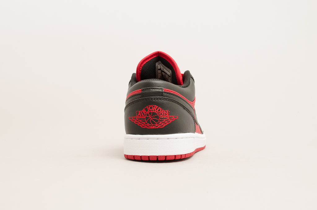 Air Jordan 1 Low ( Black / Red ) 553558-610