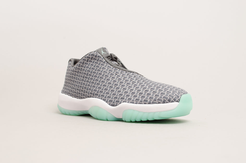 quality design 20b44 e1125 ... Air Jordan Future Low Wolf Grey   Emerald Rise (mint green) 718948-006  ...