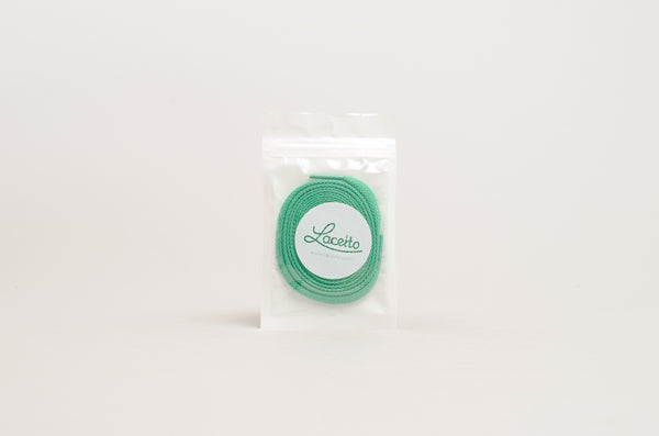 Laceito Flat Laces Green 120cm