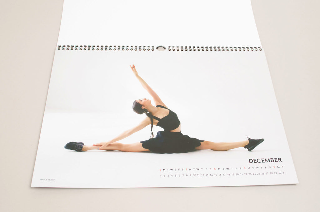 Maggie Herker The Final Choice Monthly Calendar 2019