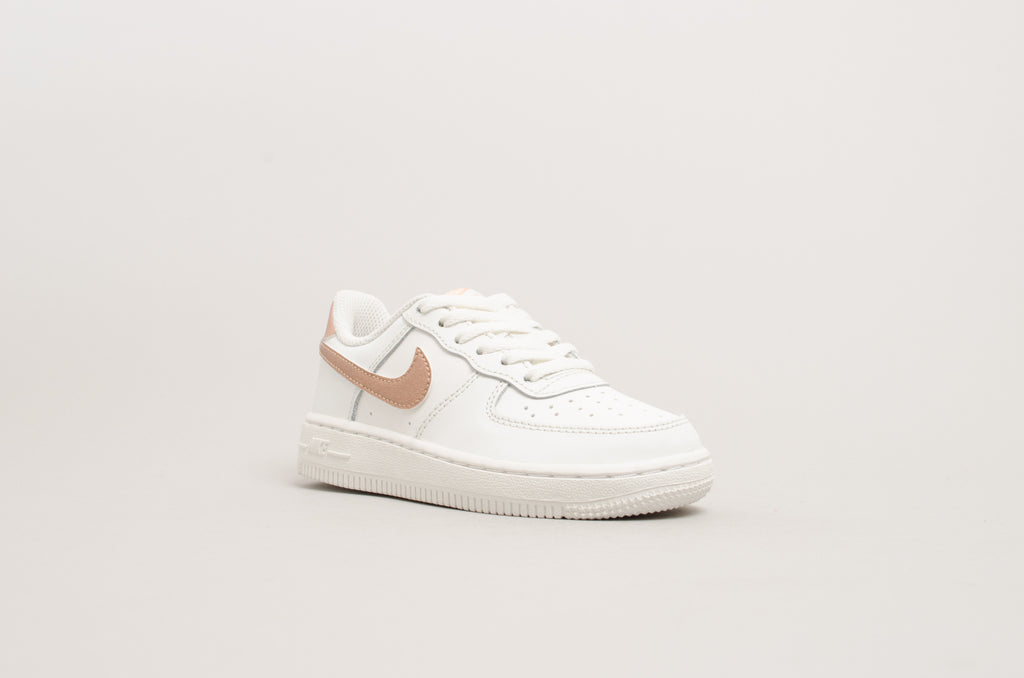NIke Force 1 (PS) White Bronze 314220-129