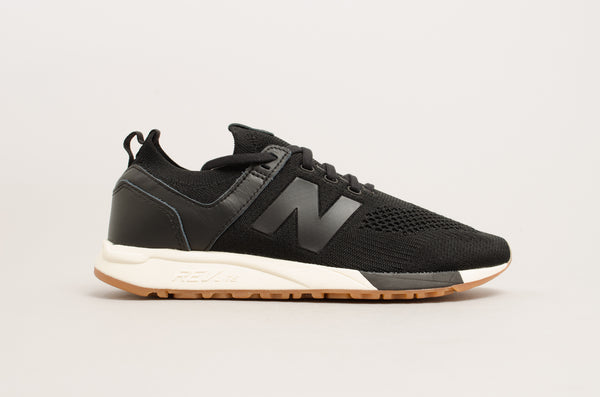 "New Balance 247 ""Knit"" Black/White/Gum MRL247DB"