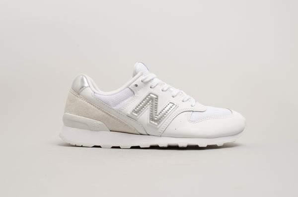 New Balance 996 White Silver WR996WM
