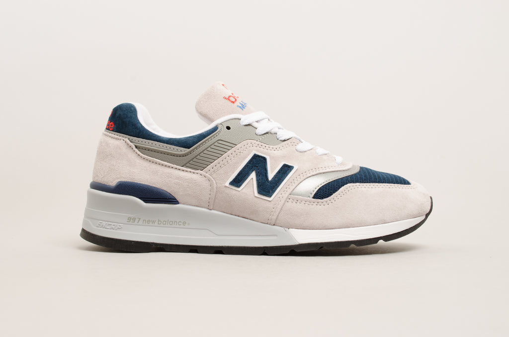New Balance 997 ( grey / navy ) M997WEB