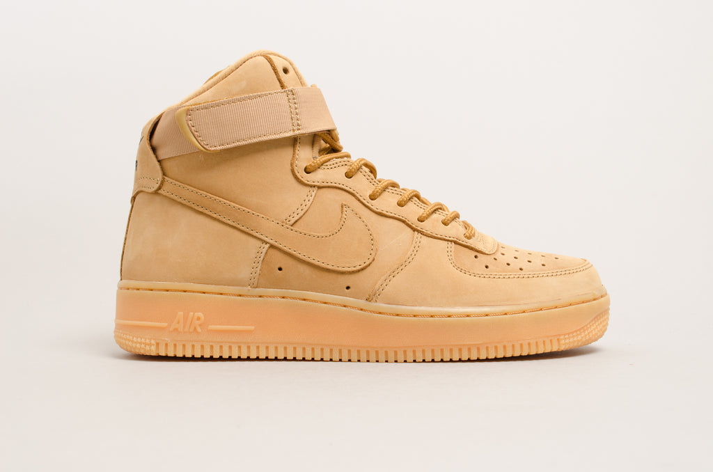 sneakers for cheap af51f d9c0e Nike Air Force 1 High 07 LV8 WB Flax Wheat 882096-200 ...