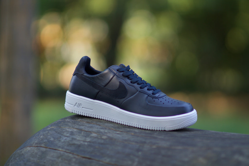 new styles 611b3 9f187 authentic nike air force 1 ultraforce leather dark obsidian 845052 401  a6fde 781eb