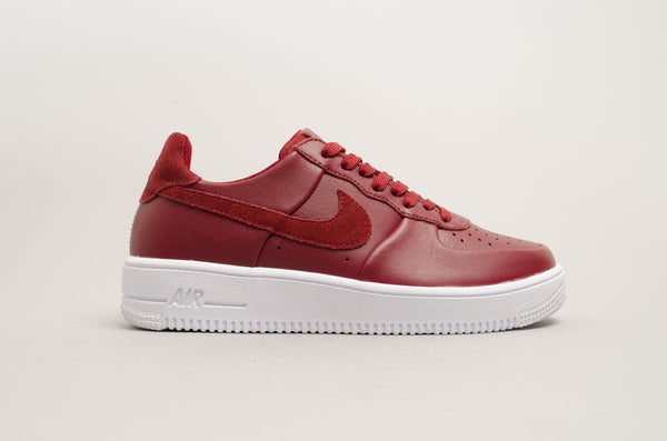Nike Air Force 1 Ultraforce Leather Team Red Burgundy 845052-600