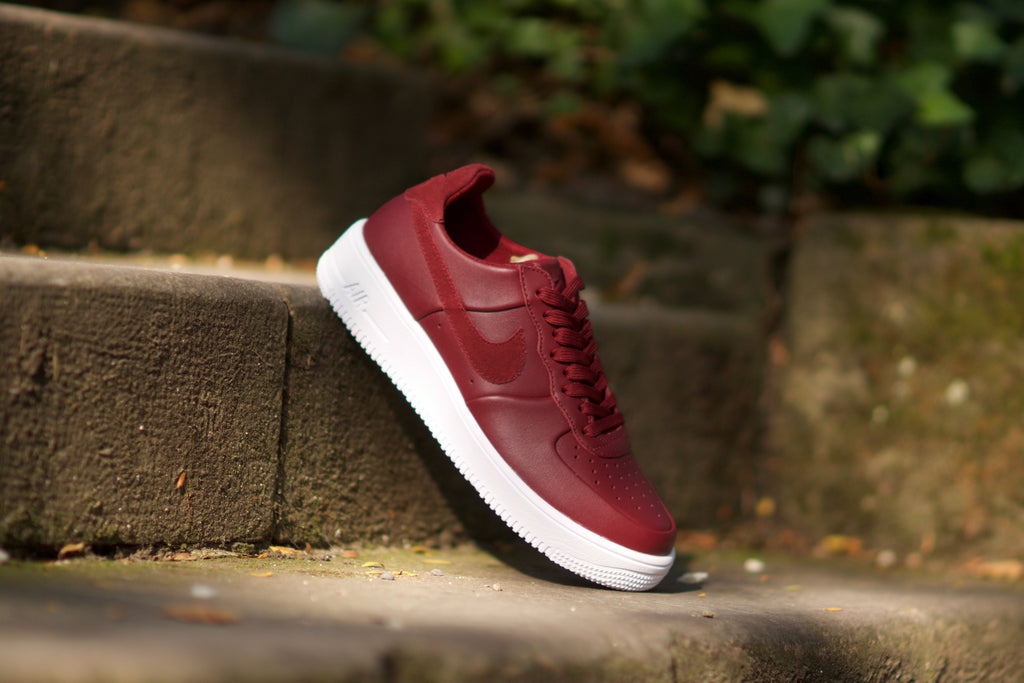 ... Nike Air Force 1 Ultraforce Leather Team Red Burgundy 845052-600 6fbdd7245