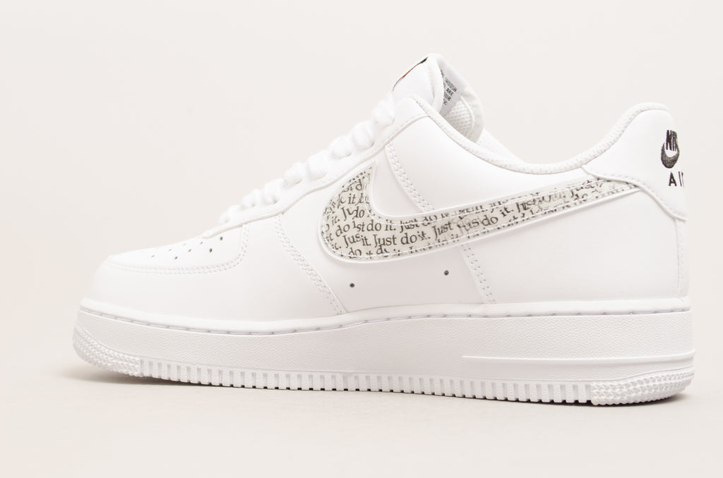 Nike Air Force 1 '07 LV8 Just do it LNTC ( White / Black )BQ5361-100