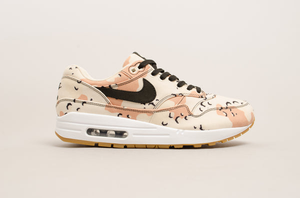 "Nike Air Max 1 Premium ""Desert Camo"" ( Beach / Black ) 875844-204"