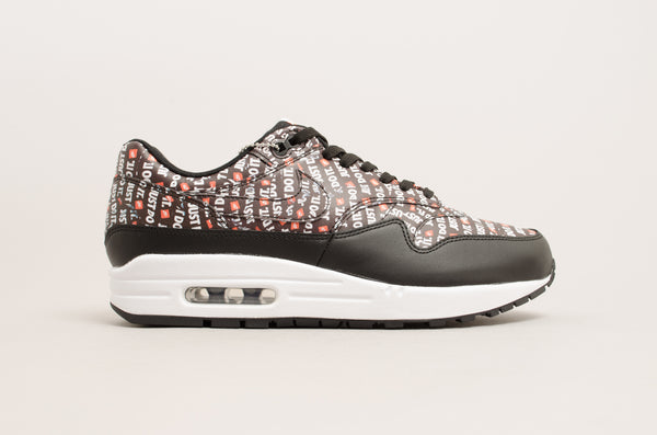 Nike Air Max 1 Premium ( Black/ Orange / White ) 875844-009