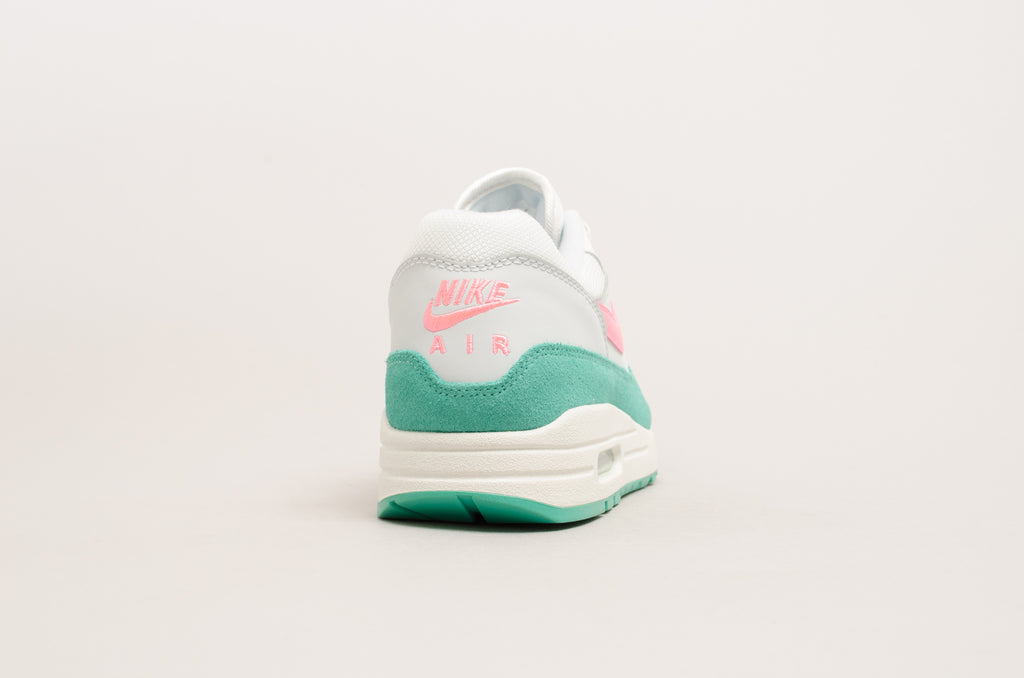 "Nike Air Max 1 ""Watermelon"" ( Summit White / Sunset Pulse / Kinetic_Green ) AH8145-106"