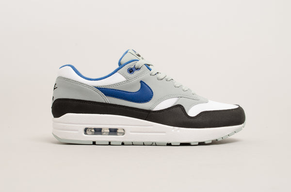 Nike Air Max 1 White Blue Light Pumice Black AH8145-102