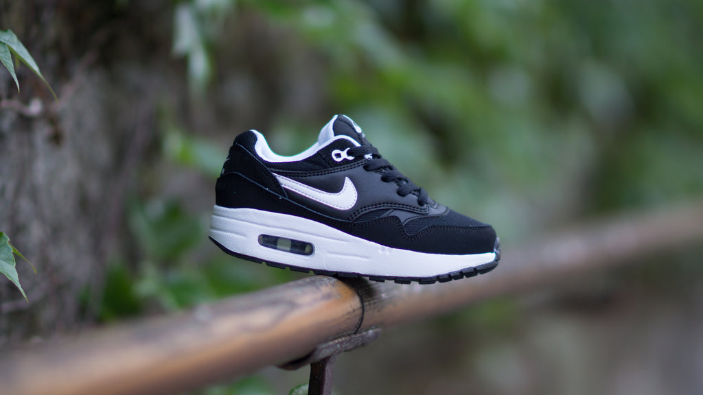 Nike Air Max 1 (PS) ( Black / White ) 807603-001