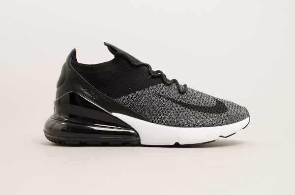 Nike Air Max 270 Flyknit (Black / White ) AO1023-001