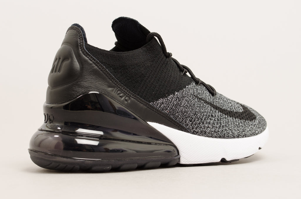 finest selection f28ab fe7c1 ... Nike Air Max 270 Flyknit (Black   White ) AO1023-001 ...