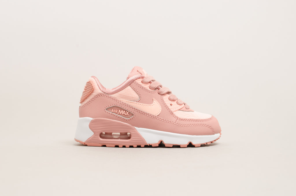1fb92ce6e1 Nike Air Max 90 Special Edition Mesh (Pre-school) Rust Pink / White ...