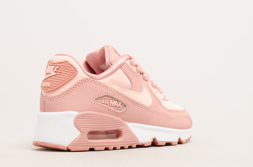 Nike Air Max 90 Special Edition Mesh (Pre-school) Rust Pink / White 881922-601
