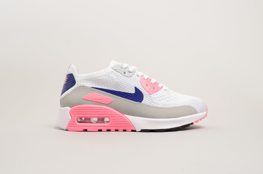 Details about Womens Nike Air Max 90 Ultra 2.0 Flyknit Running Trainers 881109 001