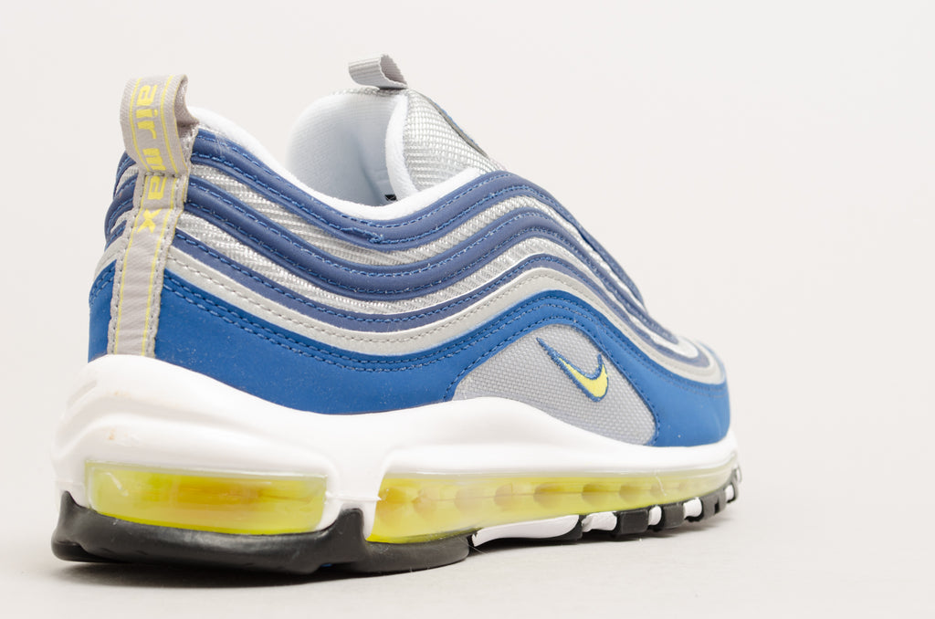 Nike Air Max 97 20th Anniversary 1997 OG Colorway Atlantic Blue/Voltage Yellow 921826-401
